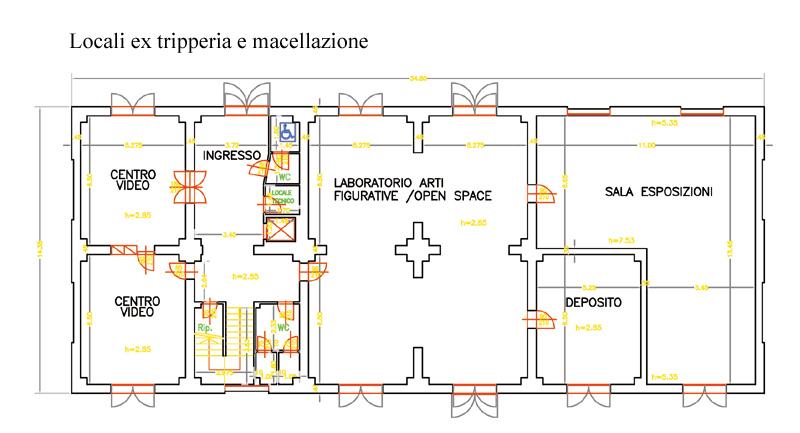 Planimetria della 2° palazzina