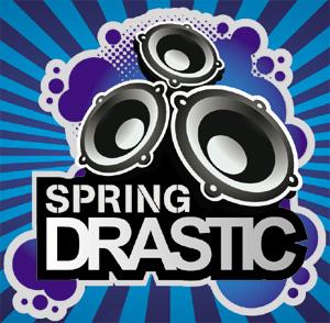 Immagine tratta dal flyer della rassegna Drastic Spring