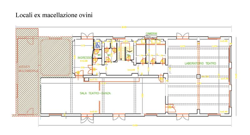 Planimetria della 3° palazzina