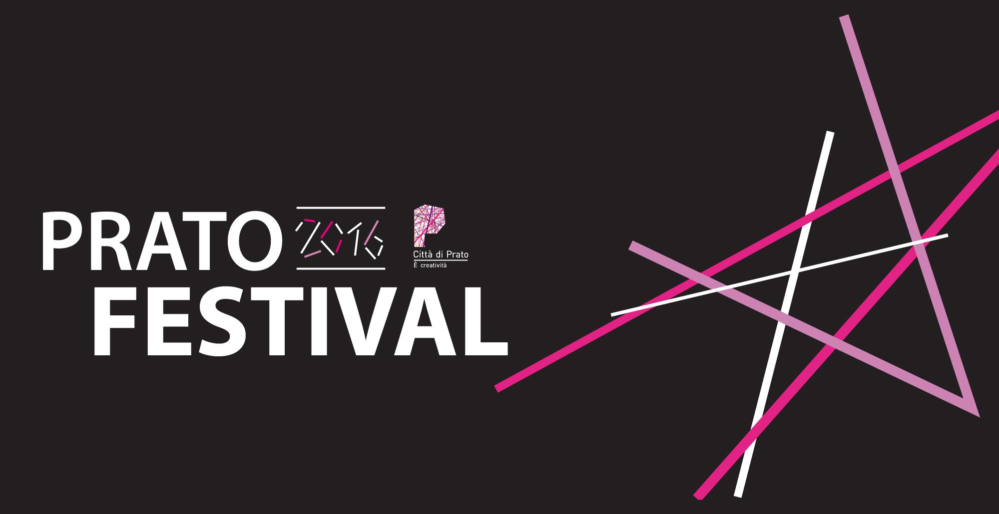 Immagine con logo tratta dal flyer di Prato Festival 2016