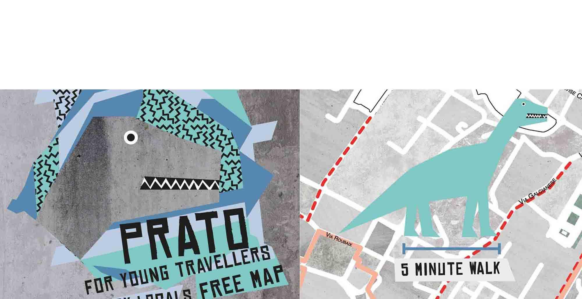 Copertina e mappa di Use-it Prato