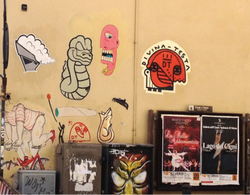 Combo poster near S. Reparata in Florence