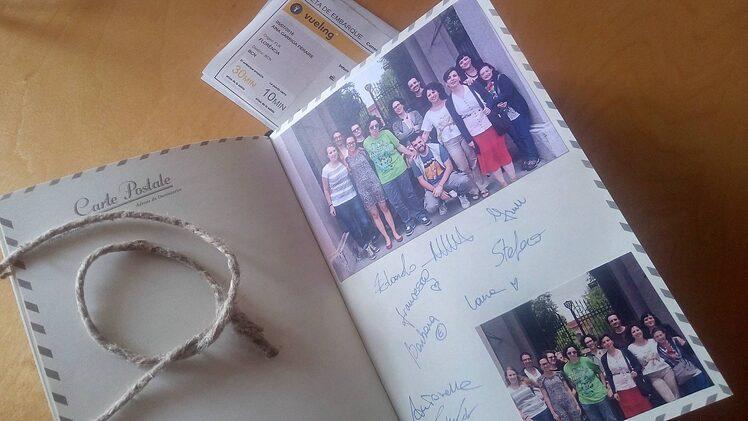 Fotografia del diario di Aina