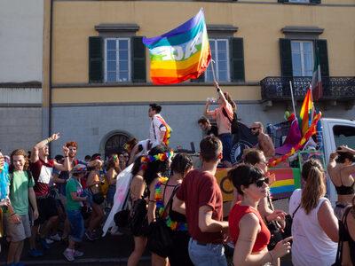 Immagine scattata al Toscana Pride - foto Sara Catalano