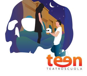 Logo Teen Teatro Scuola