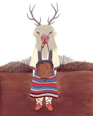 Illustrazione 'Kukero' a colori