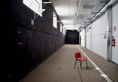 Foto interno corridoio espositivo