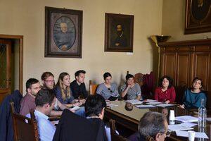 I ragazzi del Gruppo di Coprogettazione presentano le proposte alla Commissione Mobilità