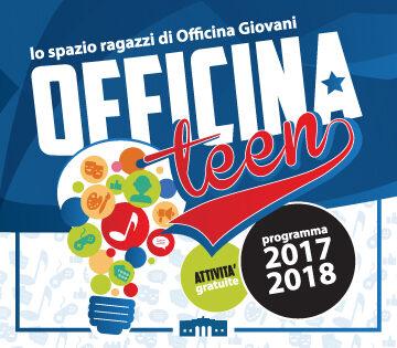 Banner programmazione Officina Teen 2017/2018