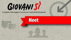 Banner Neet - progetto Giovanisì della Regione Toscana