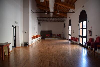 Foto interno sala teatro